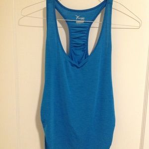 Old Navy Active M Blue Racerback Tank Top